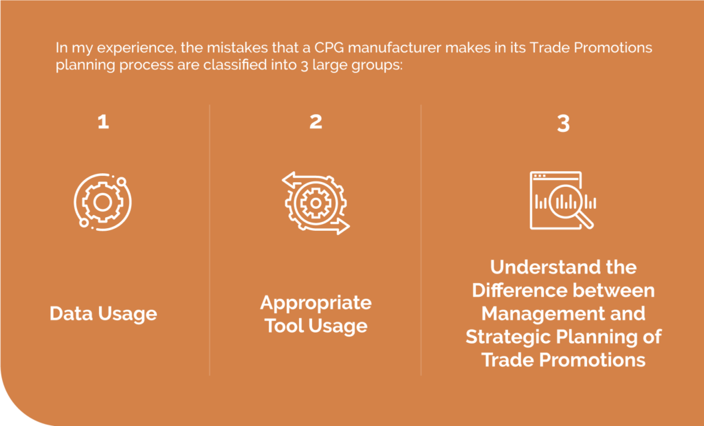 Trade Promotion common mistakes